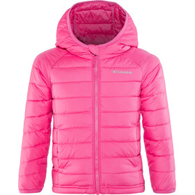 Columbia Powder Lite Hooded Jacket Mädchen cactus pink
